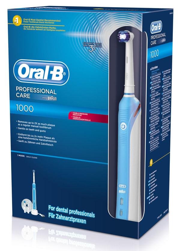 Oferta cepillo eléctrico Braun Oral-B