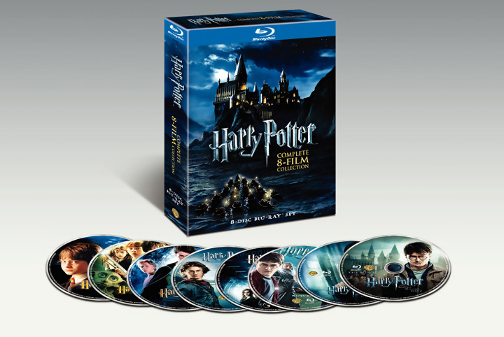 Oferta Pack Harry Potter Blu-ray