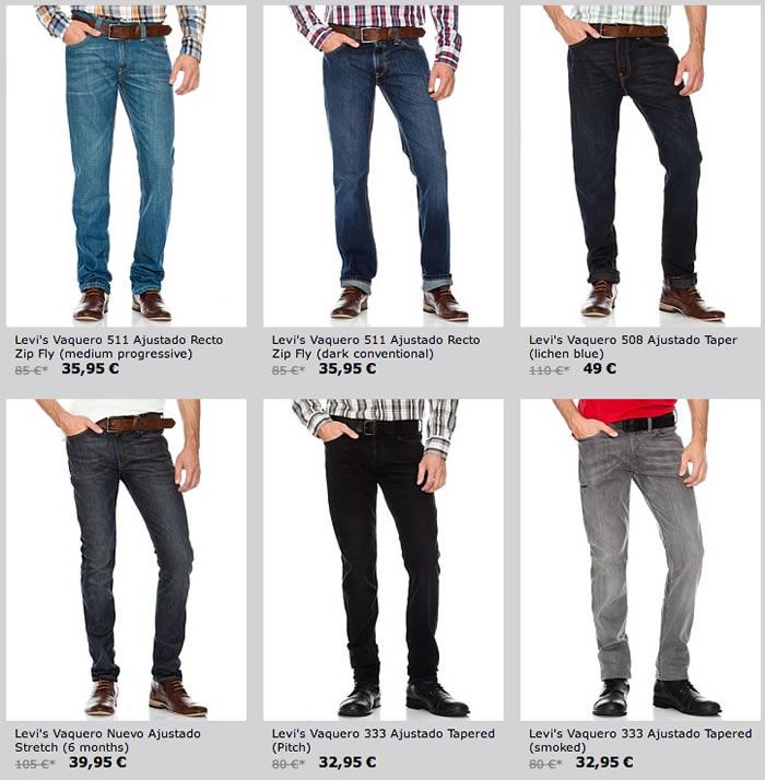 Oferta pantalones Levis Etiqueta roja
