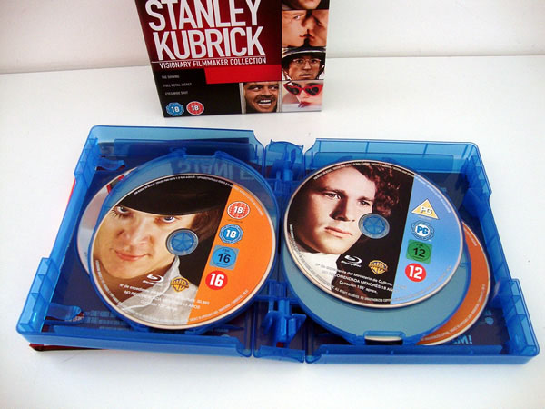 Oferta Blu-ray Stanley Kubrick Pack