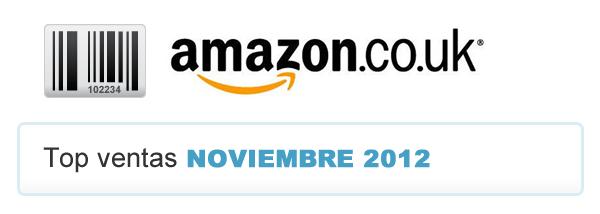 Top Ofertas Amazon UK Noviembre 2012