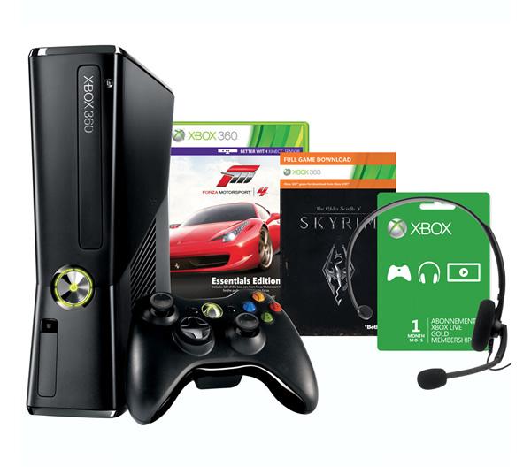 Oferta XBOX 360 Skyrim en castellano Forza 4
