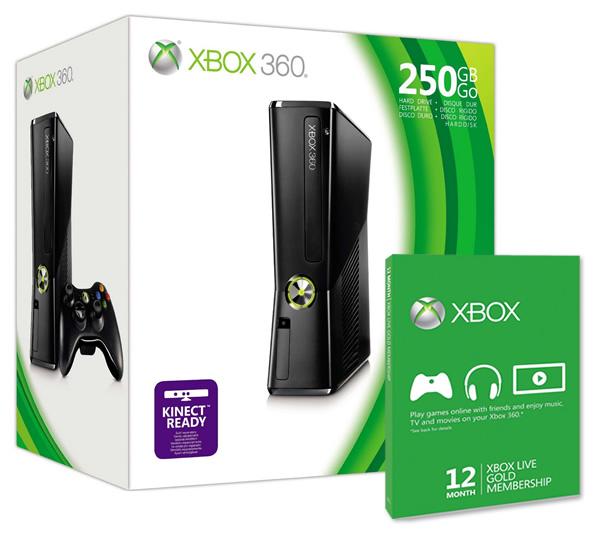 Oferta XBOX 360 250GB