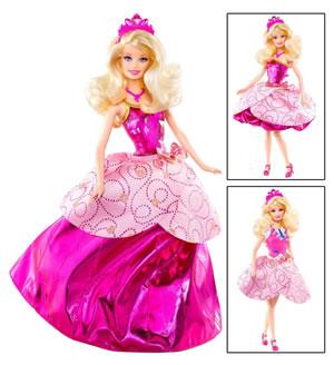 Oferta Barbie escuela de princesas