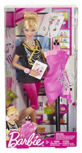 Oferta Barbie diseñadora de moda