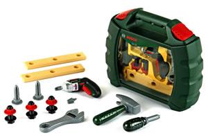 Oferta caja herramientas juguete Bosch