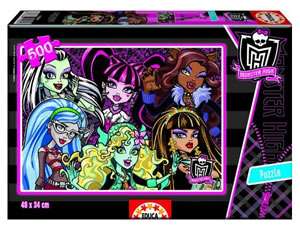 Oferta puzzle Monster High