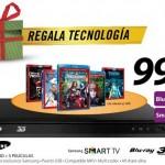 Oferta reproductor Samsung Blu-ray 3D