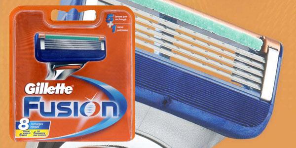 Cuchillas baratas Gillette fusion