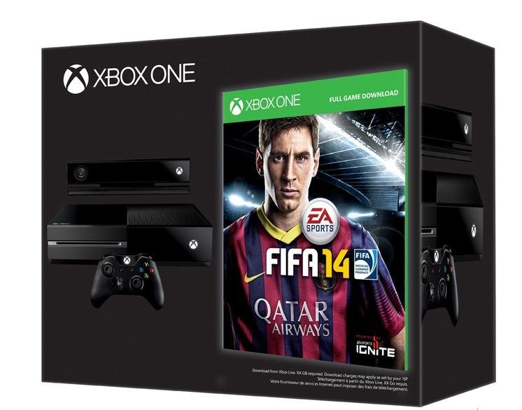 Oferta Xbox One FIFA 14