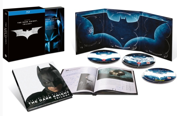 Oferta Trilogía El caballero oscuro Blu-ray