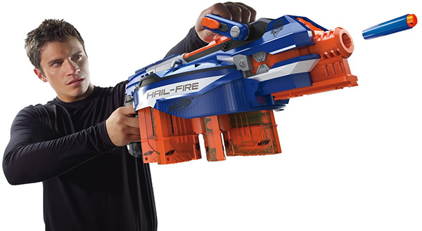 oferta-metralleta-nerf-elite-hail-fire