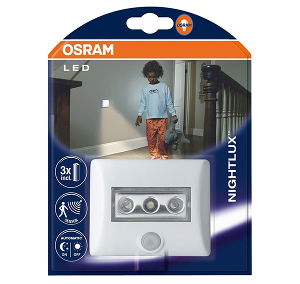 osram led nightlux luz nocturna con sensor de movimiento. Black Bedroom Furniture Sets. Home Design Ideas