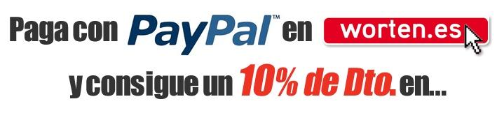 Oferta Worten Descuento Paypal
