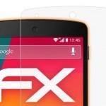 Protector pantalla Nexus 5