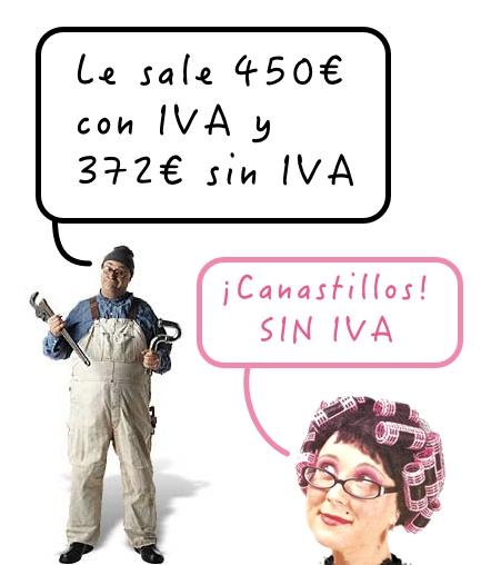 Con IVA o sin IVA
