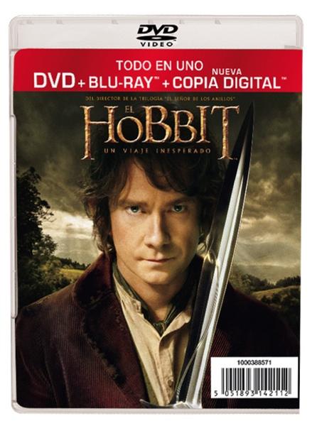 El Hobbit DVD barato