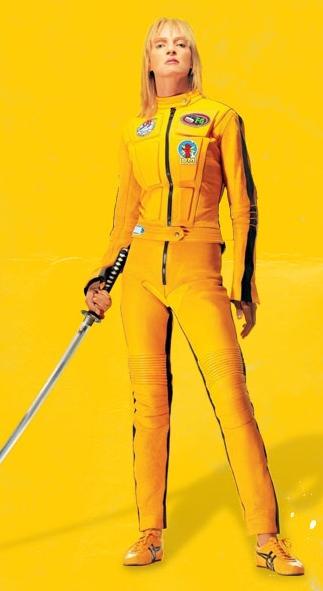 zapatillas asics amarillas kill bill
