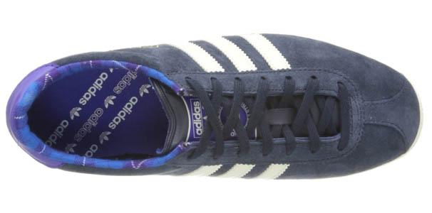 Adidas Originals Gazelle Azules Mujer (parte superior)