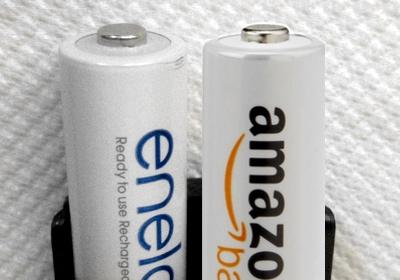 Eneloop vs AmazonBasics recargables