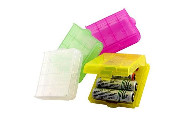 2 cajas para guardar tus pilas recargables por solo 1 98 for Oferta pilas recargables