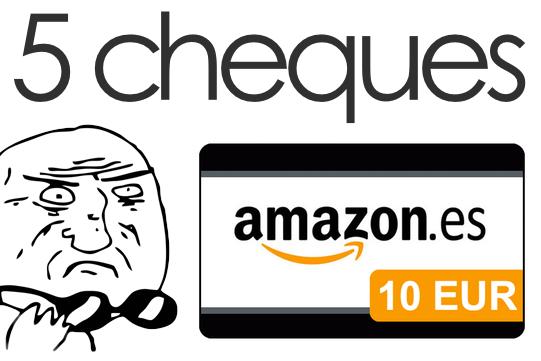 Cheques Amazon