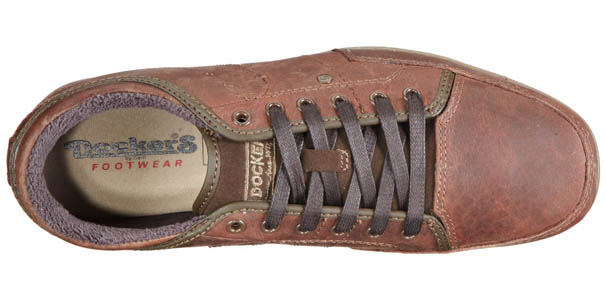 Zapatillas dockers - superior