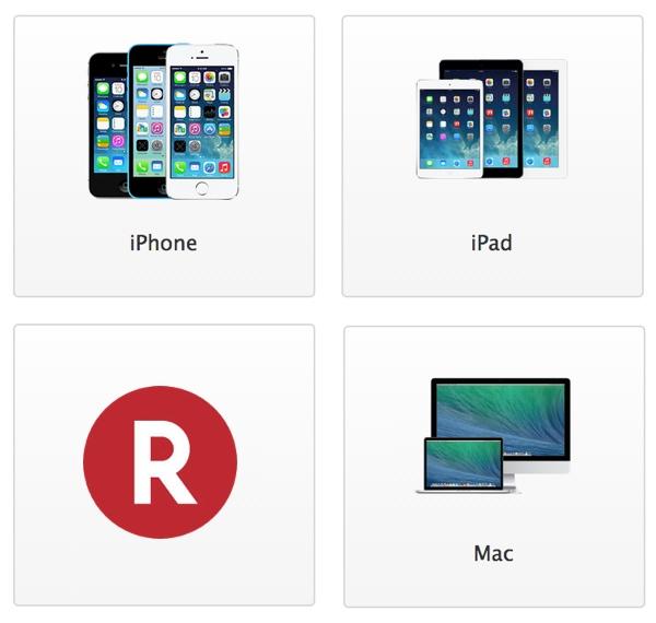 Ofertas Apple Rakuten
