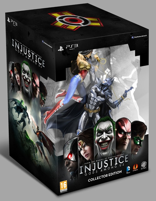 Injustice Gods Among Us Coleccionista