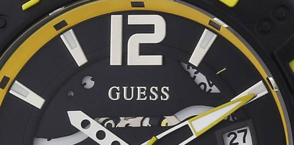 Oferta en reloj Guess amarillo