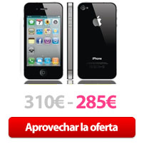 Oferta iPhone 4S cupón Rakuten