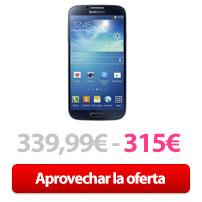 Oferta Samsung S4 cupón Rakuten