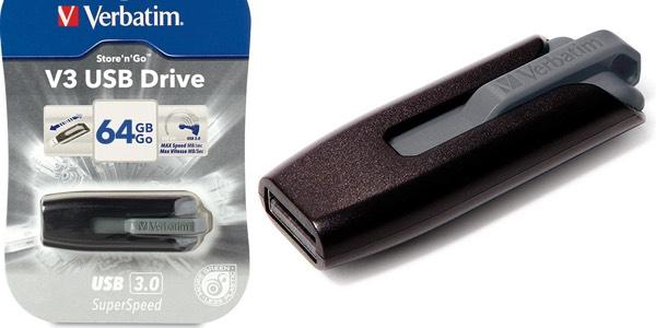 Verbatim Store'n'Go V3 de 64GB barato