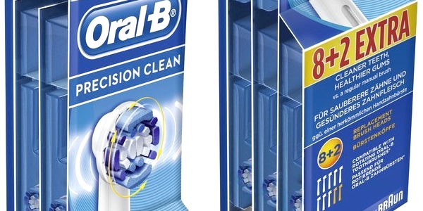 Chollo 10 recambios Braun Oral-B originales por sólo 25 3573bbf552b4