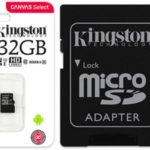 Kingston micro sdhc 32 GB barata