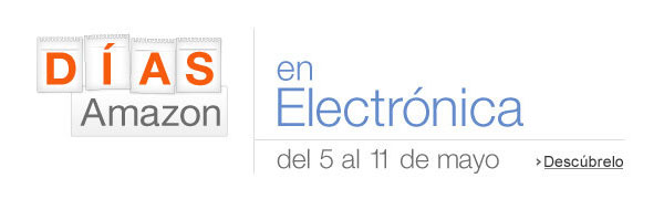 Oferta días Amazon en electrónica