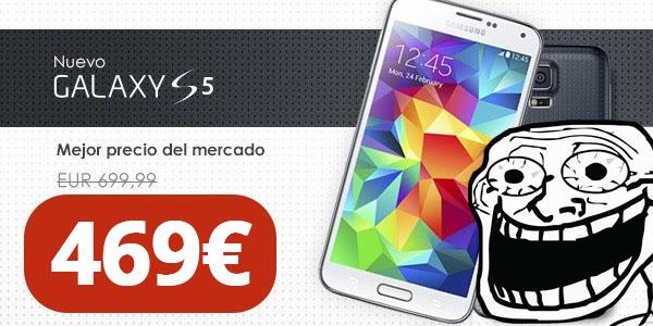 Oferta Galaxy S5 barato