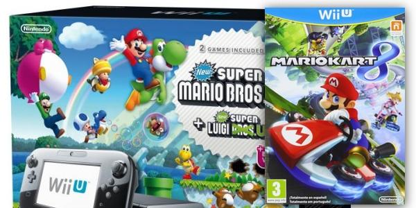 Chollo Wii U Premium Con 3 1 Juegos Por 290 Euros