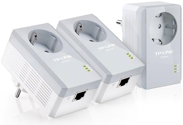 Kit 3 adaptadores plc 500mbps con 33 de descuento for Plc wifi precios