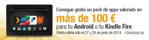 100 euros en Apps Gratis