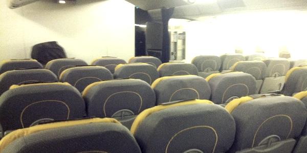 Reservar asiento avión