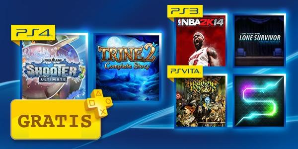 Juegos gratis PSN+