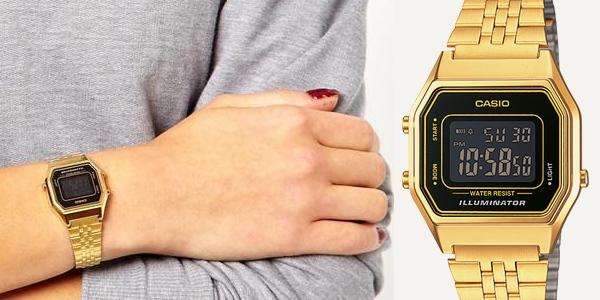 6237c21f3d33 Chollo reloj Casio Collection dorado a precio increíble