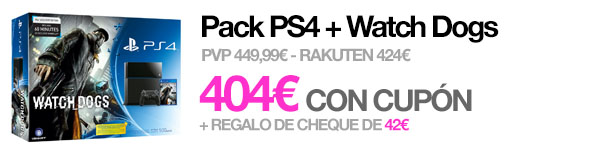 Pack PS4 Watch Dogs