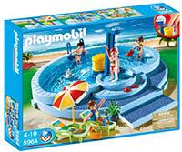Descubre los juguetes playmobil m s baratos del verano for Playmobil piscina con tobogan