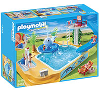 Piscina fuente ballena de Playmobil