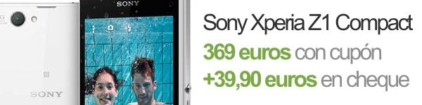 Oferta Sony Xperia Z1 Compact