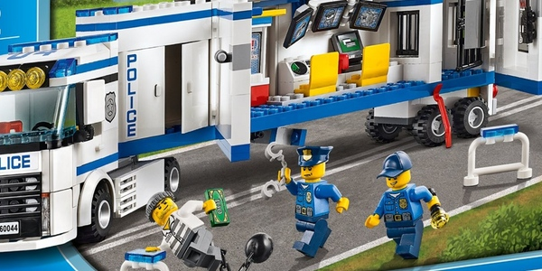 Oferta LEGO City unidad mvil polica
