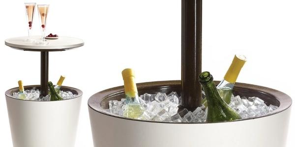 Chollo mesa elevable ketel cool bar con nevera incorporada for Mesas terraza carrefour
