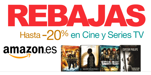 Rebajas cine Amazon